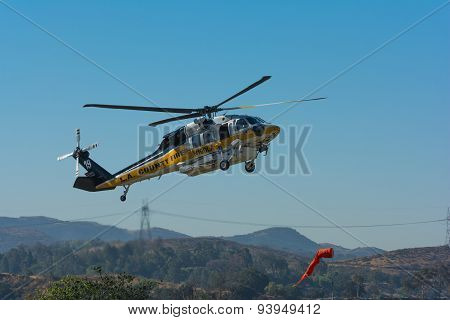 Los Angeles County Fire Helicopter