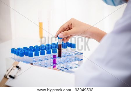 scientist in research lab