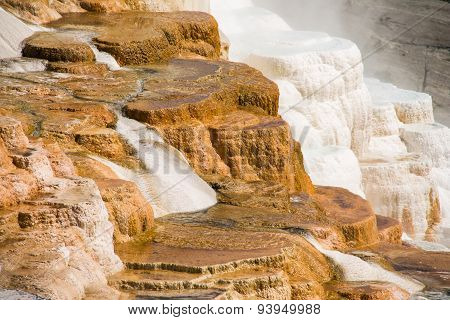 Mammoth Hot Spring Terraces, Yellowstone National Park