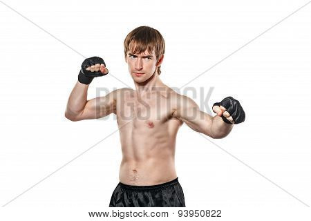 Mixed Martial Fighter Ready To Fight