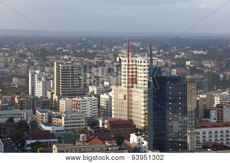 Nairobi Business District, Kenya, Editorial