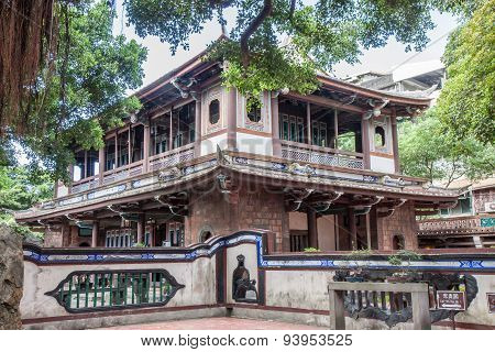 Traditional Chinese House In Taiwan
