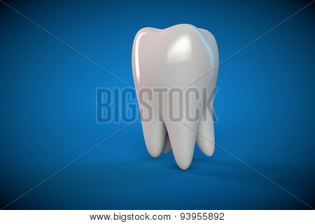 Tooth Molar Tooth Dental Hygiene Dentist 3D Blue