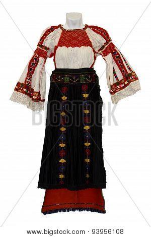 Moldavian National Costume For Women