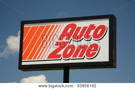 Autozone Store Sign