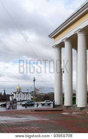 Vitebsk, View From The Dramatic Theater At The Annunciation Church