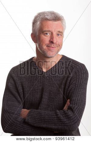 Good-natured And Vibrant Mature Man