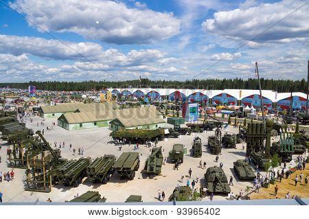 Miltary-Technical Forum ARMY-2015, park Patriot