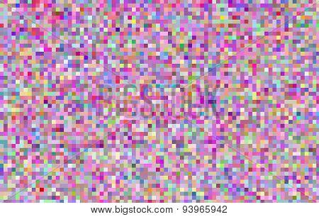 Abstract  pixel mosaic