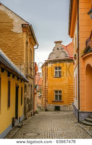 View On Old Street In Tabor