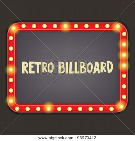 Retro Billboard