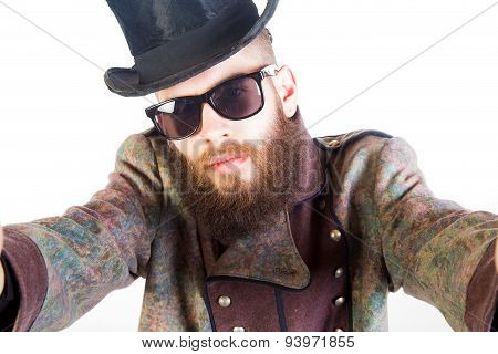Hipster Selfie