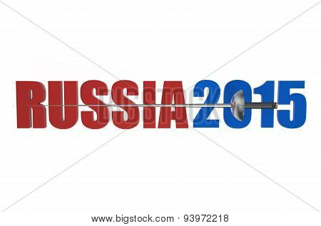 World Fencing Championships 2015 Russia Concept