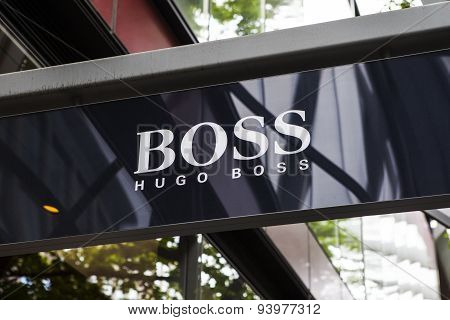 Hugo Boss Retail Store