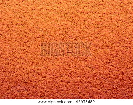 Orange Chamois Texture Background
