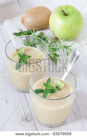 Kiwi Apple Sorbet