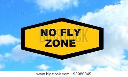flying sign