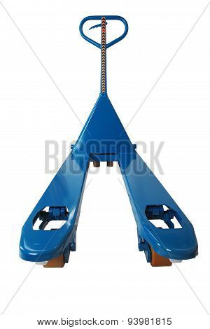 Blue Manual Forklift Hydraulic Pallet Truck