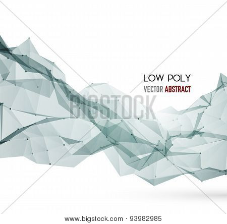 Abstract Geometric Background Design