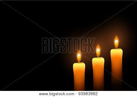 lighte candles