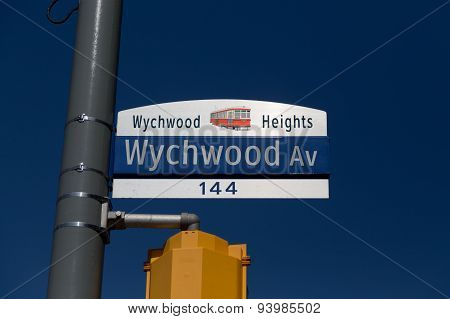 Wychwood Avenue In The Wychwood Heights District Of Toronto