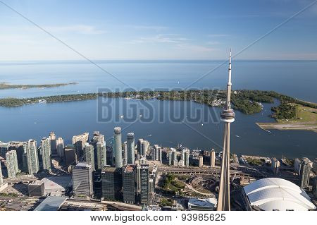 Lake Ontario From Toronto
