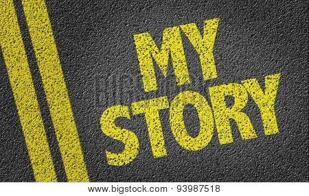 My Story written on the road