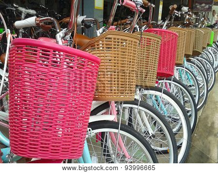Bicycles For Rent Or Sell
