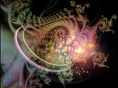 picture of fractals  - Fractal Mechanism series - JPG