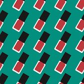 pic of nail-design  - Nail lacquer or nail polish seamless pattern - JPG