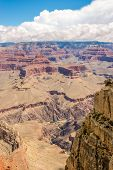 image of pima  - View at North Rim of Grand Canyon from Pima point - JPG
