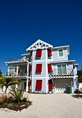 pic of beach-house  - Large New Beach House with Red Storm Shutters - JPG