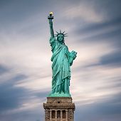 stock photo of statue liberty  - The Statue of Liberty in New York City USA - JPG