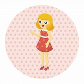 stock photo of baby doll  - Baby Doll Theme Elements - JPG