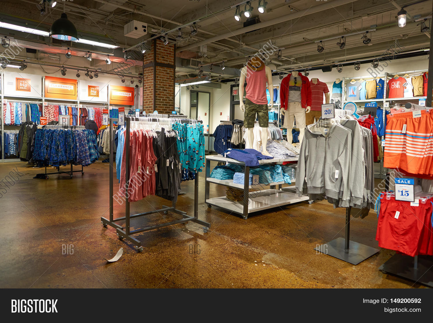 American Clothing Store Owned By Gap