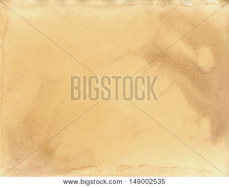 Aged Paper 4, Background Texture, Gold Abstract Overlay