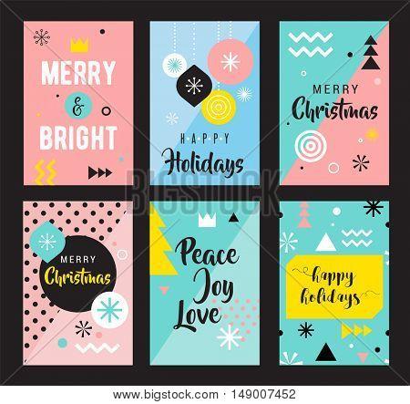 Christmas Sale backgrounds, mobile theme. Modern design for poster, card, invitation, flyer