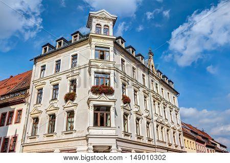 Representative Building In Freiberg