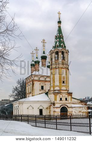 Church of the Holy Trinity is an Orthodox Church in the town of Serpukhov. Located in the historical centre of the city