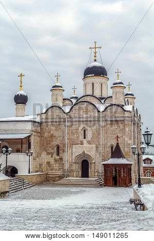 Vvedensky Cathedral. Vladychny monastery in Serpukhov was established in the year 1360 Russia