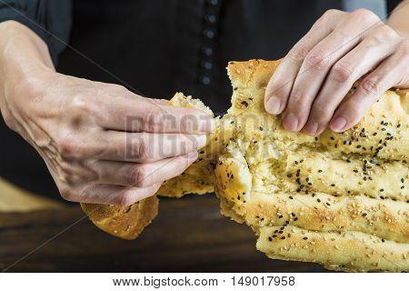 Barbari Or Persian Bread