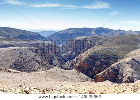 The Fall Of The Swartberg Pass