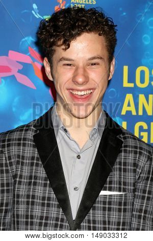 LOS ANGELES - SEP 24:  Nolan Gould at the Los Angeles LGBT Center 47th Anniversary Gala Vanguard Awards at the Pacific Design Center on September 24, 2016 in West Hollywood, CA