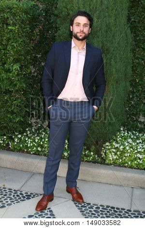 LOS ANGELES - SEP 25:  Jack Falahee at the The Rape Foundation's Annual Brunch at the Private Residence on September 25, 2016 in Beverly Hills, CA