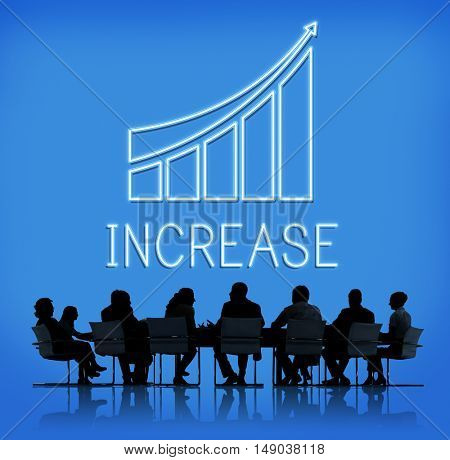 Successful Achievement Increase Growth Graphic Concept