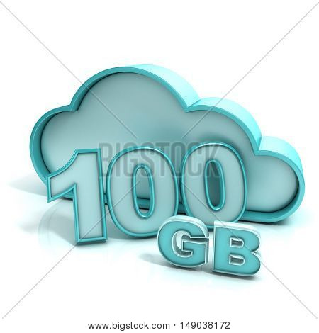 Cloud Computing And Database. 100 Gb Capacity