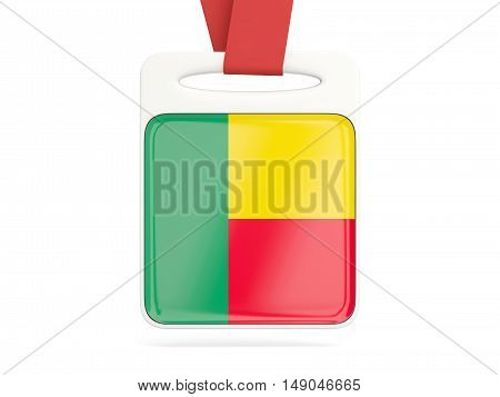 Flag Of Benin, Square Card