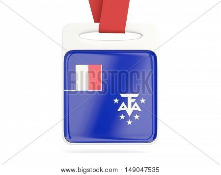 Flag Of French Southern Territories, Square Card