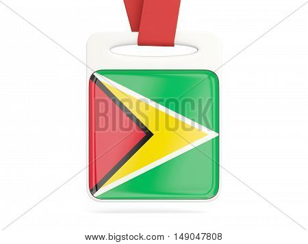 Flag Of Guyana, Square Card