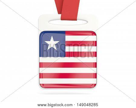 Flag Of Liberia, Square Card